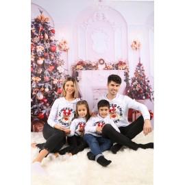 Set Bluze Family Rewdeer Enow Alb