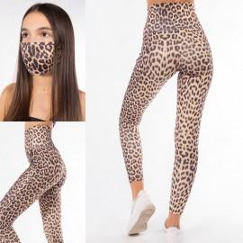Colanti dama cu imprimeu Tiger