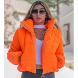 Geaca scurta Emily portocaliu