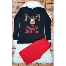 Pijama cu maneca lunga Merry Christmas