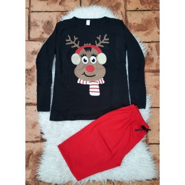 Pijama cu maneca lunga beautiful Reindeer
