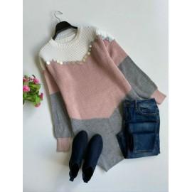 Rochie dama tricotata Trio