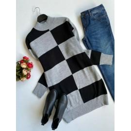 Rochie dama tricotata Duo