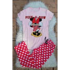 Pijama dama Peek a Bow roz