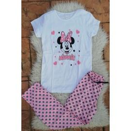 Pijama dama Minnie Beautiful Alb