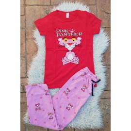 Pijama dama Pink Panther Rosu