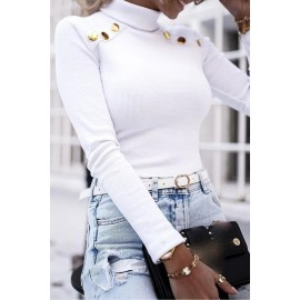 Bluza dama accesorizata cu nasturi Rolly