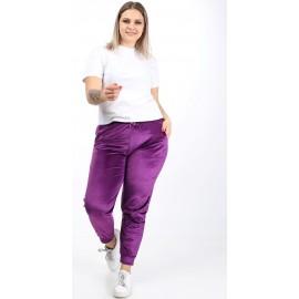 Pantaloni dama din catifea Batal