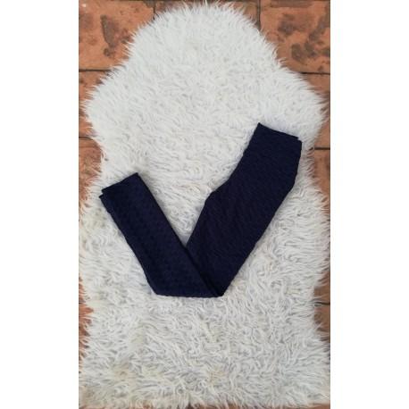 Colanti cu efect de tricotaj
