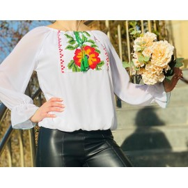 Bluza dama cu imprimeu floral Mimmy