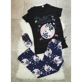 Pijama dama Minnie Cute Negru