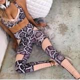 Compleu dama Fitness Snake Roz