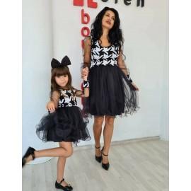 Set rochii Mama - Fiica Sanzy
