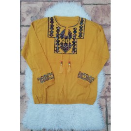 Bluza dama cu motive traditionale Armonia