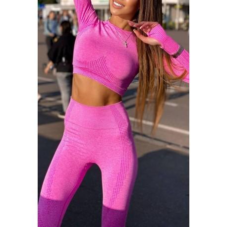 Compleu dama Fitness Ginger Ciclam