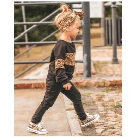 Set Trening Mama-Fiica model Leo Negru