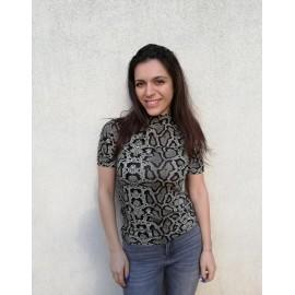 Bluza dama cu imprimeu Tiger Tody