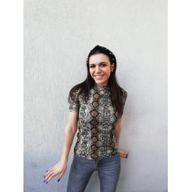 Bluza dama cu imprimeu Sarpe Tody