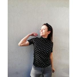 Bluza dama cu imprimeu Dots Tody