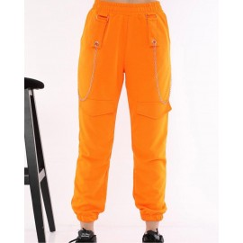 Pantaloni dama cu lant Foly