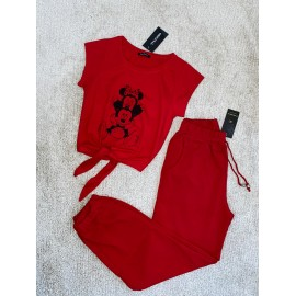Set 2 piese bluza si pantaloni Delia Minnie & Mickey