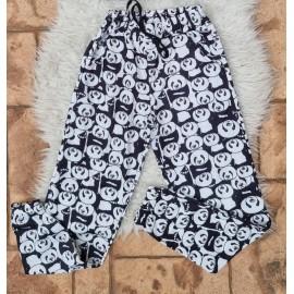Pantaloni dama Panda