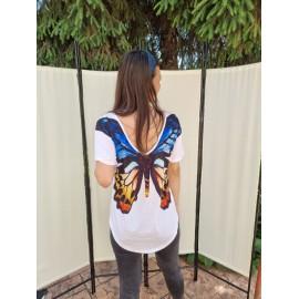 Tricou dama cu imprimeu Butterfly