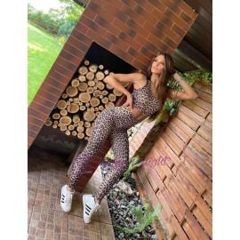 Compleu dama din lycra Xixi Leopard