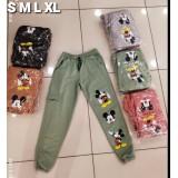 Pantaloni dama Mickey cu buzunar