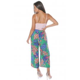 Pantaloni largi si colorati de dama